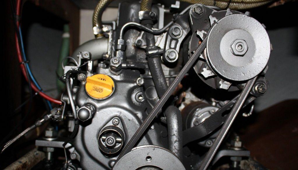 Diesel motor techniek